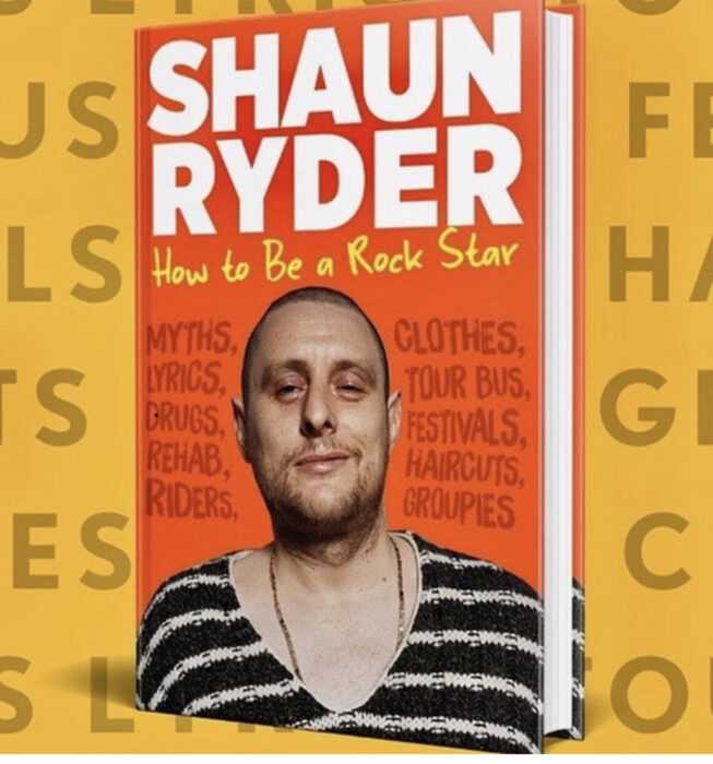 Shaun Ryder announces new book 'How To Be A Rockstar'