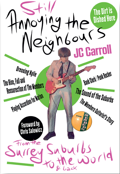 JC Caroll annoying the nieghbours