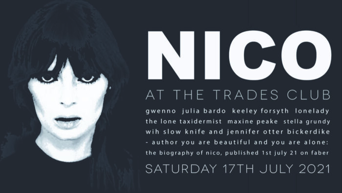 Maxine Peake joins all-star Trades Club line up celebrating the life of Nico