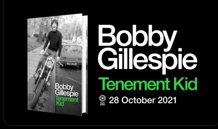 Bobby Gillespie announces his memoirs