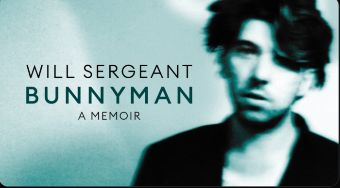 Will Sergeant announces his memoirs with 'Bunnyman' book