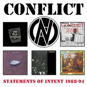 Conflict Statements Of Intent 1987-94