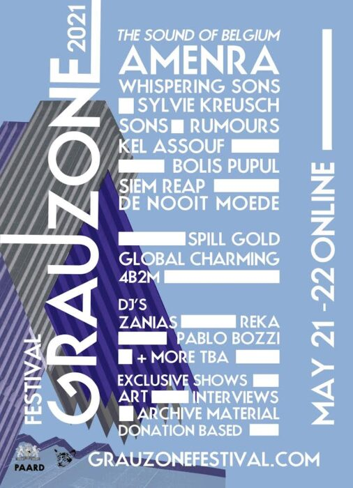 Grauzone announce line up for online version of key post punk and goth festival