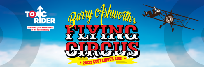 Barry Ashworth's Flying Circus   'Collective Wing Walk for Mental Health'  Fronted by Dub Pistols front man in aid of Tonic Rider