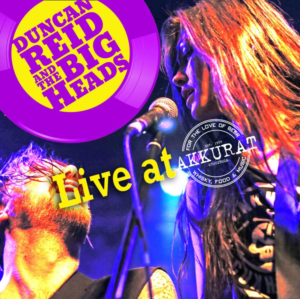 Duncan Reid & the Big Heads: Live at Akkurat – album review