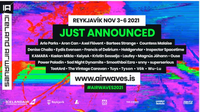 Iceland Airwaves Festival announces autumn bill