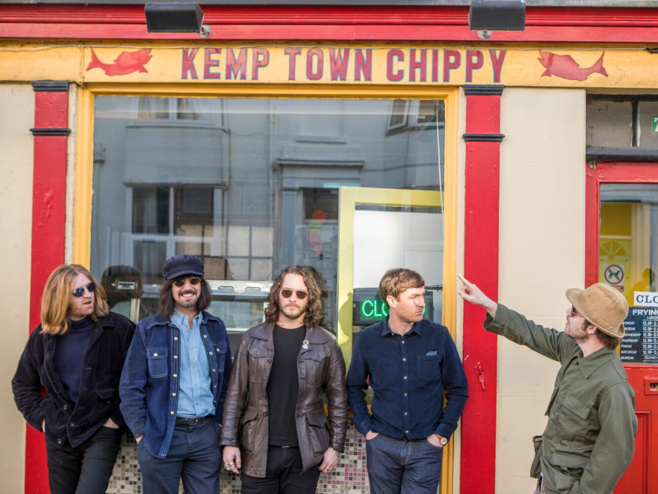 The Coral: Interview with Nick Power.