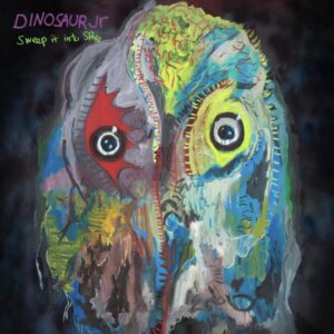 Cover of Dinosaur Jr's new album Sweep It Into Space