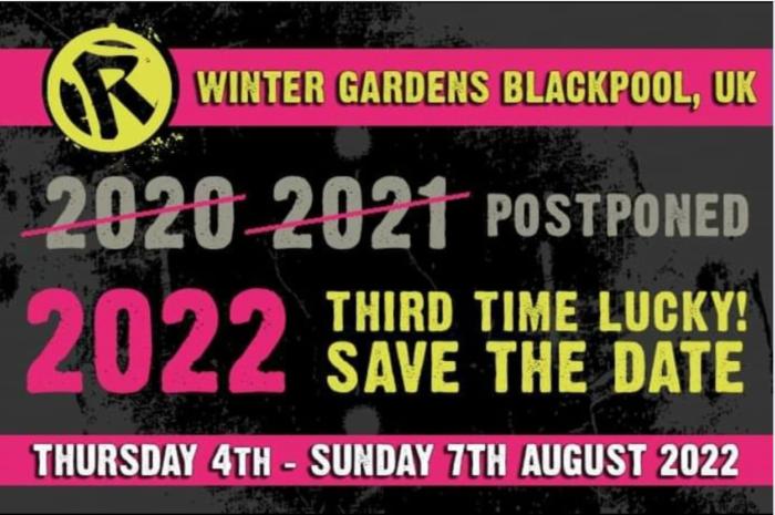Rebellion Festival postponed until 2022