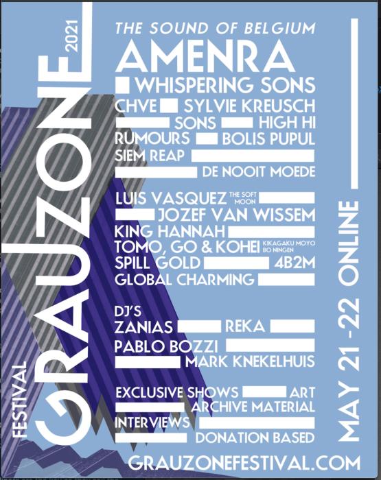 GRAUZONE FESTIVAL ANNOUNCES FINAL NAMES TO ONLINE EDITION