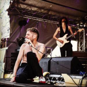 Bad Fractals live on stage