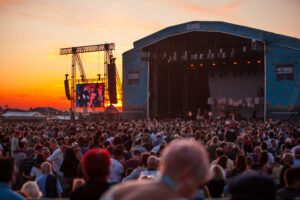 Victorious Festival sunset