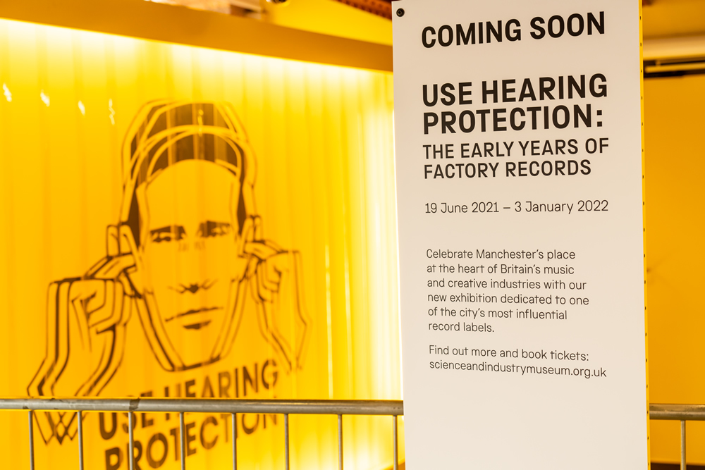 Entrance - Use Hearing Protection
