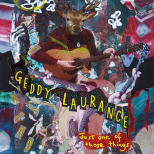 Geddy Laurance and Michael O split EP COVER