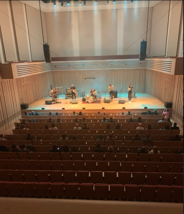 Squid: Manchester Stoller Hall – live review