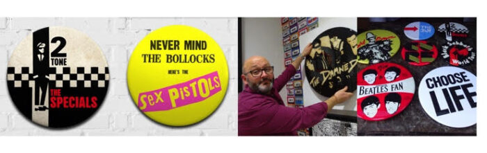 Never Mind the Badges– An Exciting New Exhibition of badge culture at Watergate Street Gallery, Chester