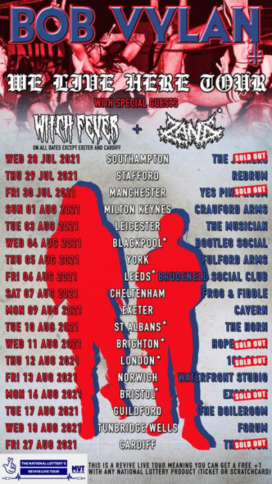 Tour Of The Week! Bob Vylan, Witch Fever scorch the UK