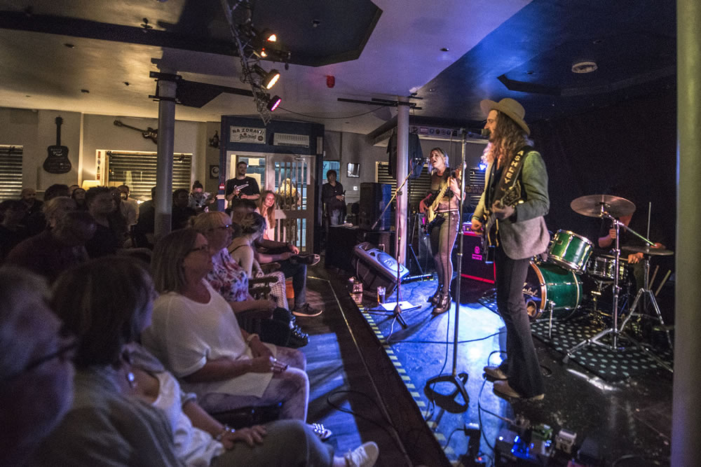 Ashley Sherlock Band at The Spinning Top - Charlotte Wellings©