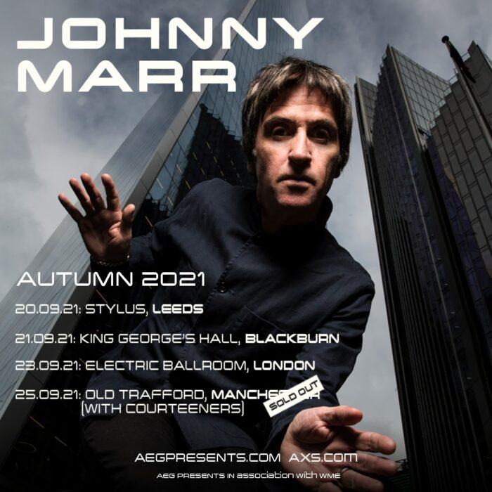 Johnny Marr announces September tour dates