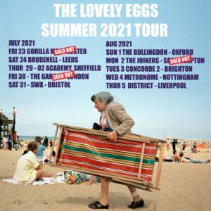 The Lovely Eggs new single I, Moron ft Iggy Pop