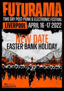 Futurama rescheduled date poster