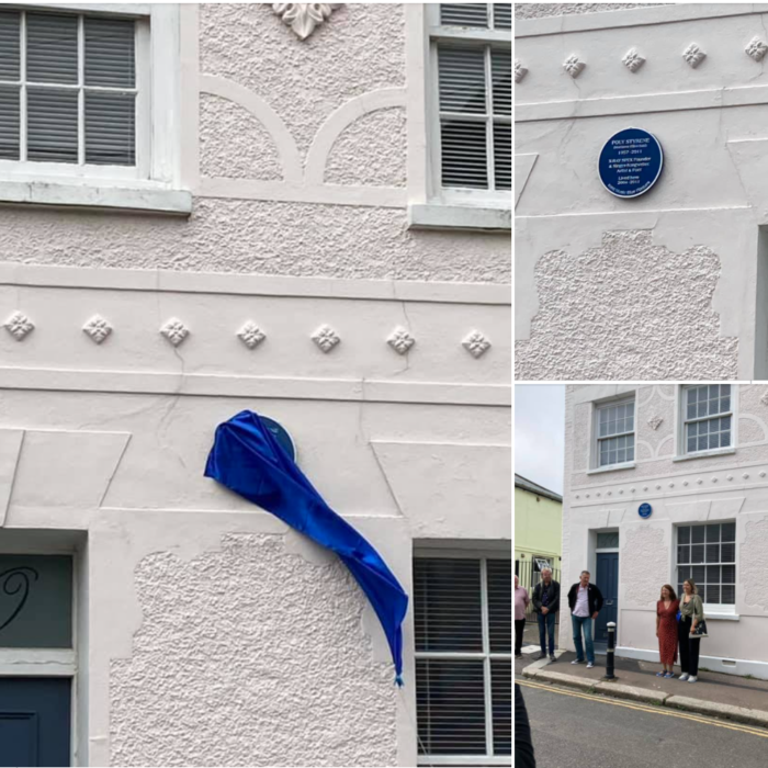 Poly Styrene commemorative blue plaque unveiled on her former home