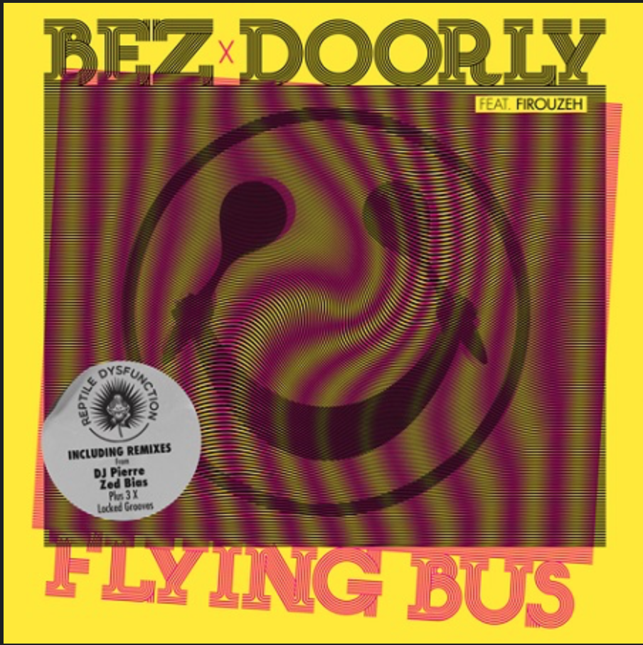 WATCH! Bez makes his vocal debut with Doorly on acid house tune 'Flying Bus'