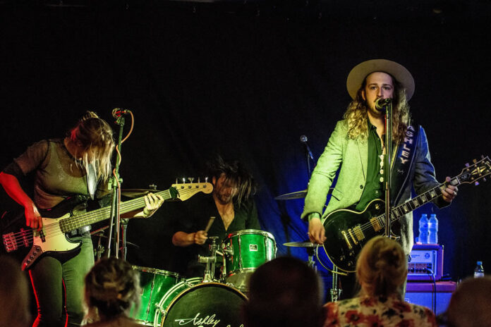 The Ashley Sherlock Band - The Spinning Top - Charlotte Wellings