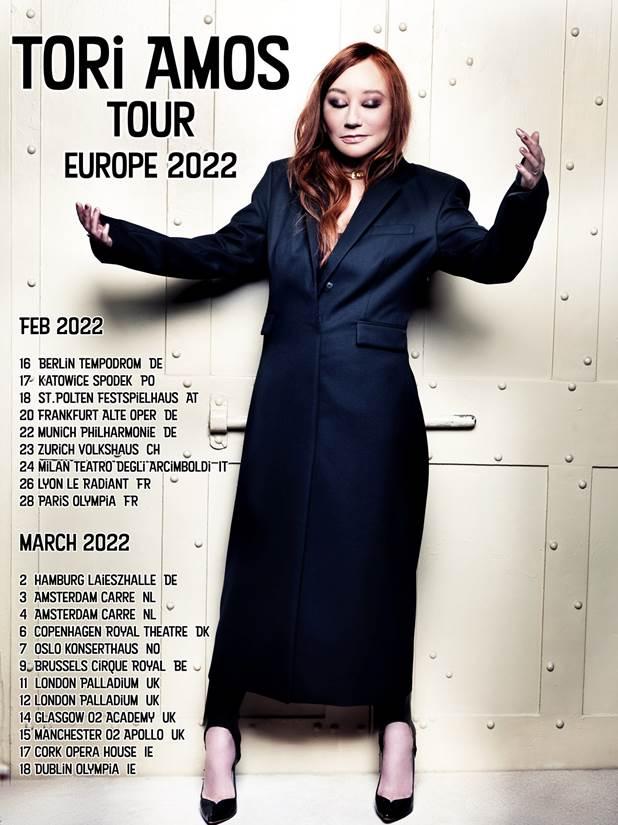 Tori Amos Tour dates 2022