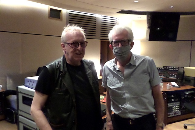 Charity Band the Spammed re-unites producer Nick Lowe and drummer Rat Scabies for the first time since 77's rampaging Damned Damned Damned.