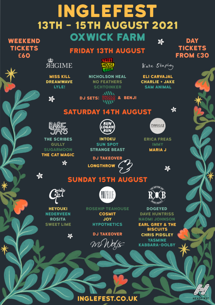 Inglefest: Oxwick Farm, South Gloucestershire – preview