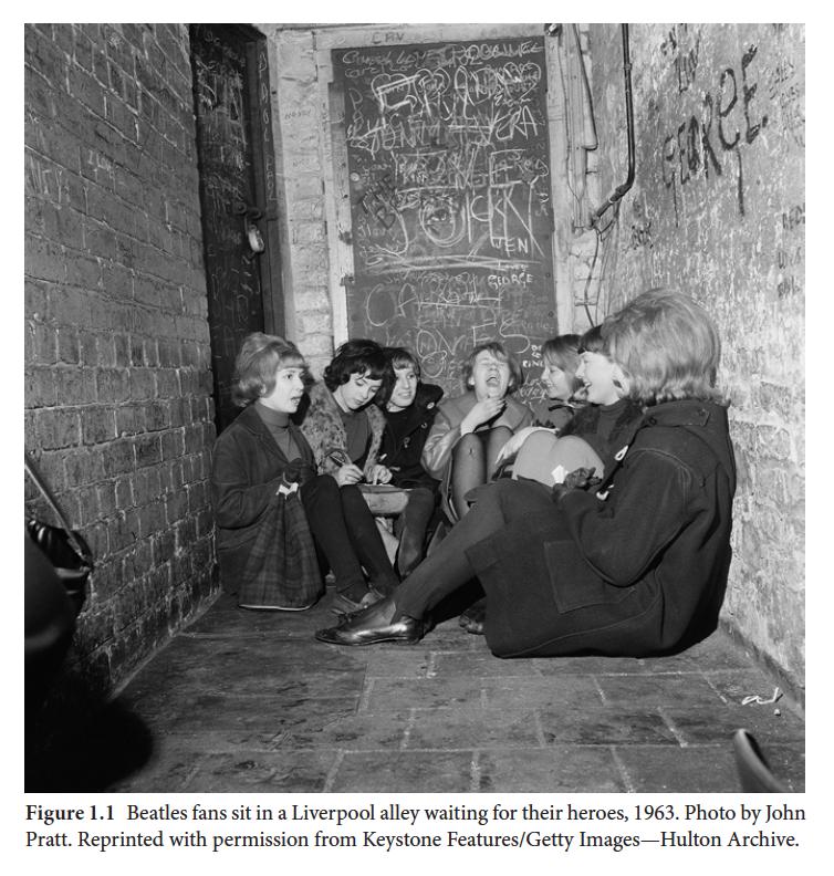 Women Beatle fans Liverpool