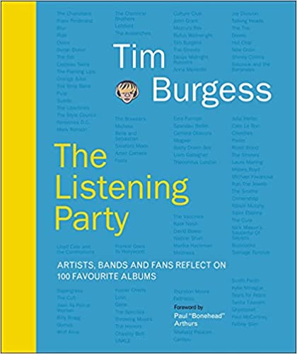 tIM burgess Listening Party book