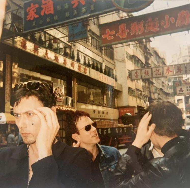 BRETT SIMON NEIL IN HONG KONG - PHOTO - JANE SAVIDGE