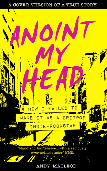 Anoint My Head by Andy Macleod – book review