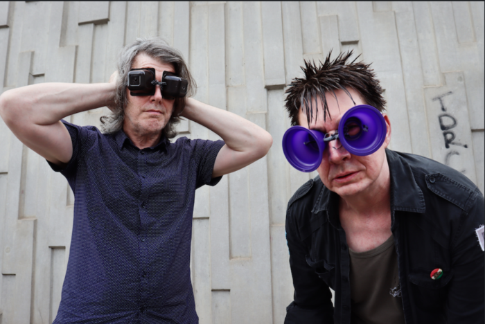 WATCH THIS! electro punk anthem from Manc post punk duo called Flea