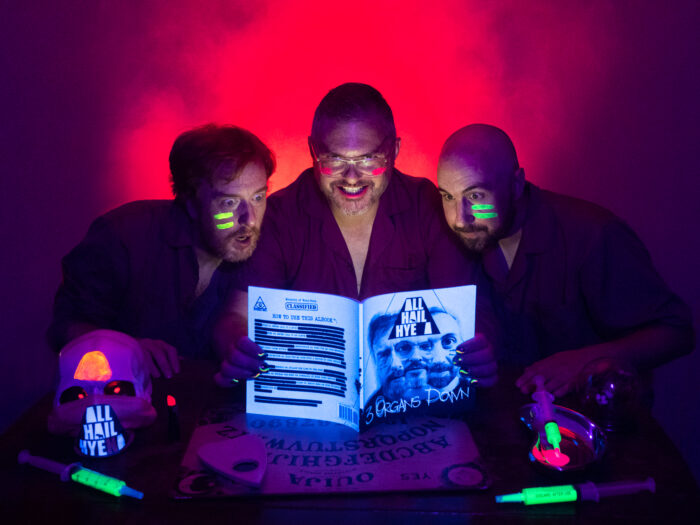 Listen To This!  All Hail Hyena release Worlds first ALBOOK™ 3 Organs Down