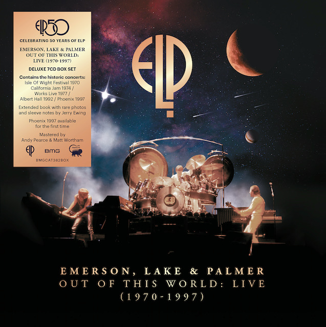 Emerson, Lake and Palmer: Out of This World: Live (1970-1997) – album review