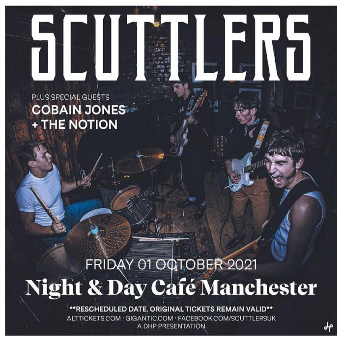 Scuttlers - Night & Day October 1 2021