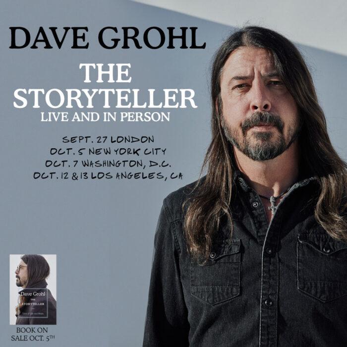 Dave Grohl Storyteller Live