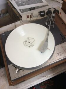 Thom Yorke posts photo of mystery white vinyl – and causes fan meltdown- is this the new Radiohead?