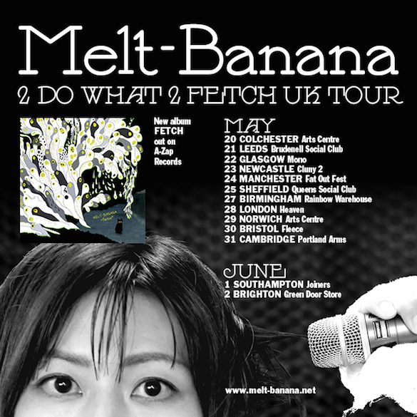 Watch This! Previously unseen Melt-Banana video released to coincide with UK Tour