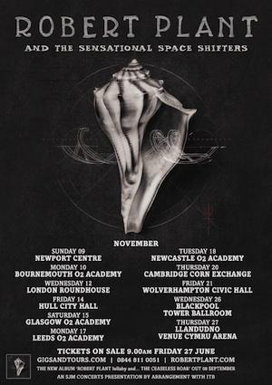 Robert Plant Announces Upcoming Tour and New Album