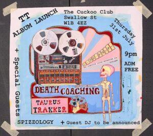 Taurus Trakker: Death Coaching – album review
