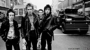 The Clash photo Adrian Boot