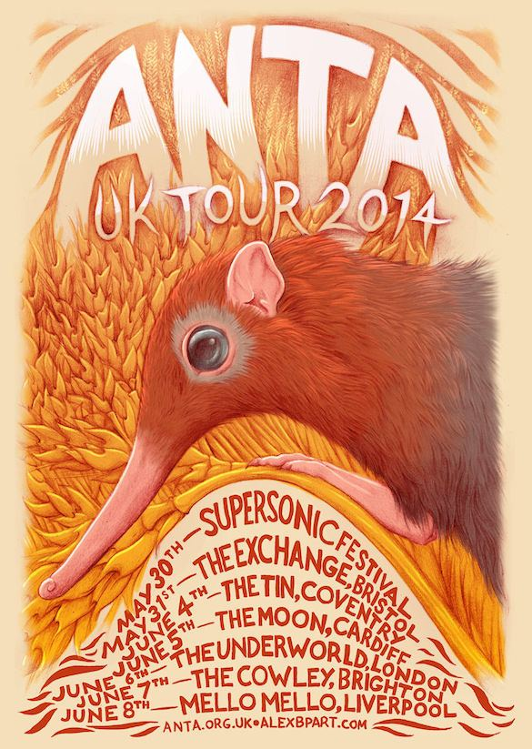 Supersonic Festival Is Returning With An Intimate Two Day Event. Full details plus news of a tour by one of our favourite bands ANTA below