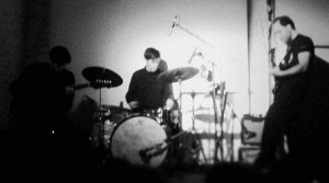 B/B/S playing live in Berlin