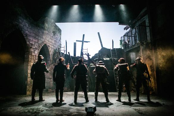Sebastian Faulks's Birdsong: Clwyd Theatre, Cymru – theatre review