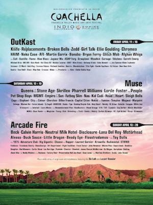 Coachella Announces 2014 Line Up