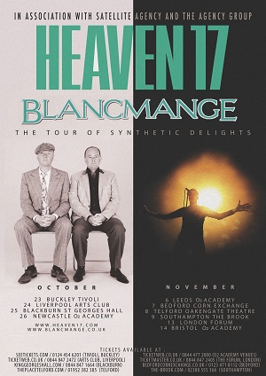 The Tour Of Synthetic Delights – Blancmange and Heaven 17: King Georges Hall, Blackburn – live review